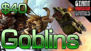 modern goblins deck tech budget mono red aggro 40 youtube