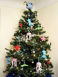 unconventional christmas tree christmas lights decoration