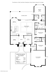 3 car garage dimensions montessa floorplan stock