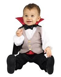 Halloween Dracula Makeup by Little Dracula Baby Costume For Halloween Horror Shop Com