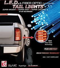 fiber optic tail lights silverado tail ls