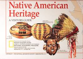 Native American Tribes Map Native American Heritage Vintage Map Cartography Maps