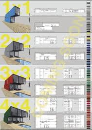 Storage Container Floor Plans - 29 best maison container images on pinterest container house