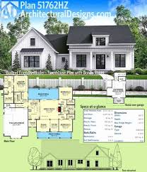 2 story farmhouse plans plan hz bud friendly modern farmhouse plan with bonus 2 story house