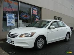 2011 honda accord white 2011 taffeta white honda accord lx sedan 79950498 gtcarlot com