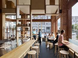 Interior Design Of Shop Bohlin Cywinski Jackson Have Designed A New Coffee Shop In San