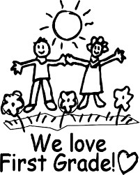 we love first grade coloring page wecoloringpage