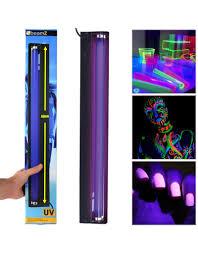 uv ultraviolet glow in dark fluorescent tube light 60cm halloween