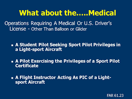 Seeking Pilot Script Sport Pilot Pilot Certification Light Sport Aviation Branch Ppt