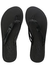rip curl ivy sandals for women black planet sports
