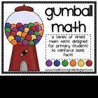 gumball math gumball math and math test