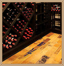 Wine Cellar Floor - two types of chicago wine cellar flooring custom wine cellars
