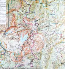 Mt Washington Trail Map by Gifford Pinchot Trail Map National Geographic Diagrams Get Free