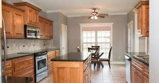 what paint colors look best with maple cabinets oak cabinets ideas on foter kitchen wall colors oak