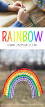 fused bead rainbow suncatchers