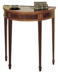 small half moon console table with drawer furniture elegant and small half moon console table astounding
