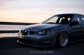 widebody subaru impreza hatchback going wider john hall u0027s widebody 2006 wrx wagon stanceworks