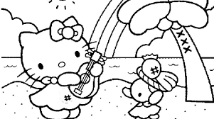 dream hello kitty birthday coloring pages 25 photo gekimoe u2022 63456
