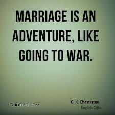 wedding quotes adventure g k chesterton marriage quotes quotehd