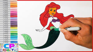 the little mermaid ariel coloring pages for kids coloring pages