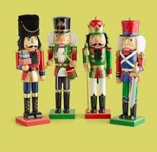 glittered traditional nutcrackers set of 3 traditional of and