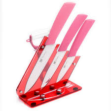 popular knife gift sets buy cheap lots from china xyj brand best ceramic knife gift set inch slicing utility paring