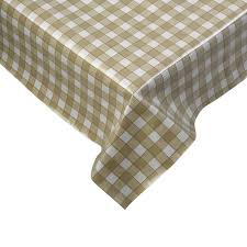 Dinner Table Protector by 100 Cotton Gingham Check Tablecloth Dining Room Kitchen Linen
