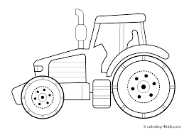 tractor coloring page tractor transport coloring pages for kids
