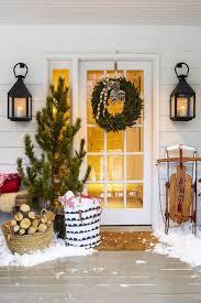 christmas outdoor tree funny office door christmas