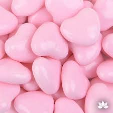 candy hearts light pink candy hearts 35g caljavaonline
