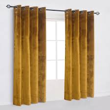 Yellow Grommet Curtain Panels by Mustard Yellow Bedding Pillow Covers U0026 Curtains Grommet Curtains