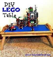 diy folding train table 25 diy tables the entire family will love