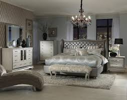 Michael Amini Bedding Clearance Amazon Com Hollywood Swank Queen Graphite Bedroom Set By Aico