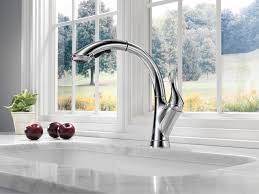 kitchen faucet awesome delta brushed nickel kitchen faucet
