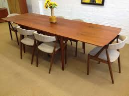 Rectangle Wood Dining Tables Furniture White Painted Wood Mid Century Dining Chair Furniture