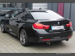 bmw 435i series series bmw f36 gran coupe 2x1 tip 435i look stainless exhaust