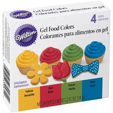 wilton gel food color set primary walmart com