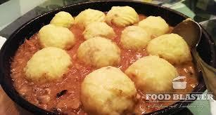 schlesische küche schlesische kartoffelknö mit fleischfüllung rezept food blaster