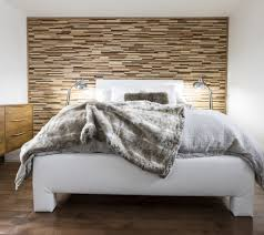 wooden wall bedroom 63 wall panels wood the room very individual appearance allow