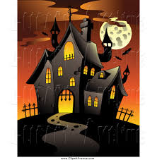 clipart haunted house images u2013 101 clip art