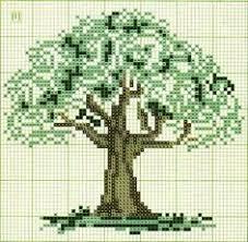 oak tree pdf cross stitch patterns instant my