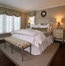 upholstered headboard traditional bedroom detroit by