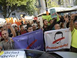 the scale of repression over catalonia is exposing the crisis of