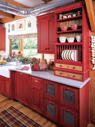 Red Lacquer Kitchen Cabinets 15 Contemporary Kitchen Designs With Red Cabinets Rilane