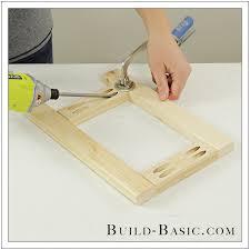 Step 2 Desk Easel Build A Diy Tabletop Easel U2039 Build Basic