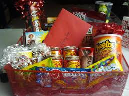Man Gift Baskets For Valentine U0027s Day I Made A Man U0027s Gift Basket Full Of Manly Man