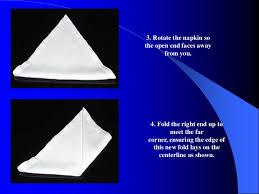 how to fold table napkins table napkin folding