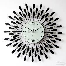 contemporary clocks oversized contemporary wall clocks art all