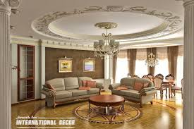 classic interior design in best luxury style living room interior