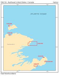 North East United States Map Digital Nautical Chart